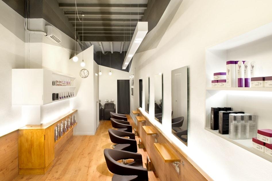 дизайн современного салона красоты