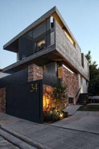 дизайн загородного коттеджа в современном стиле