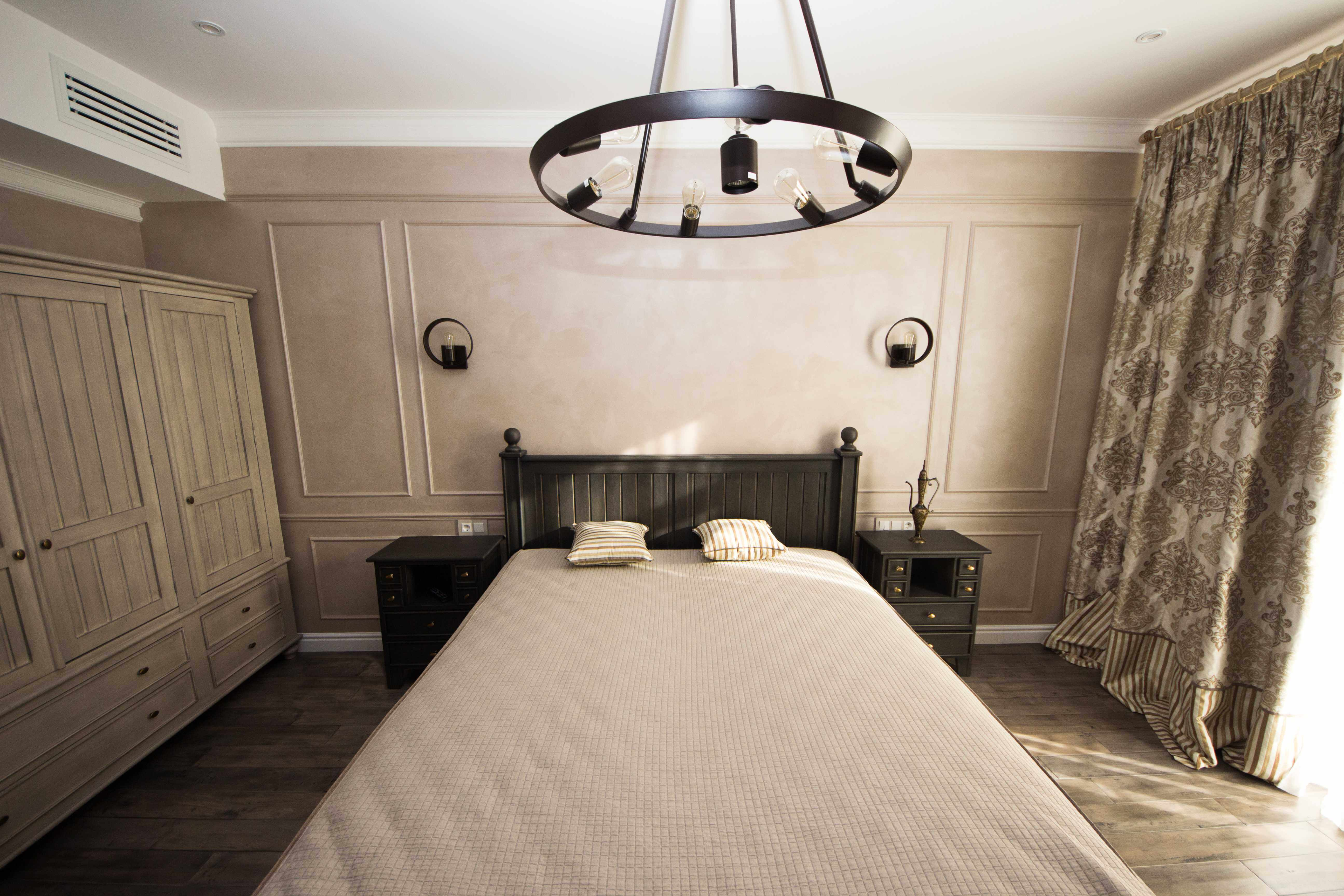 дизайн спальни для гостей в классическом стиле