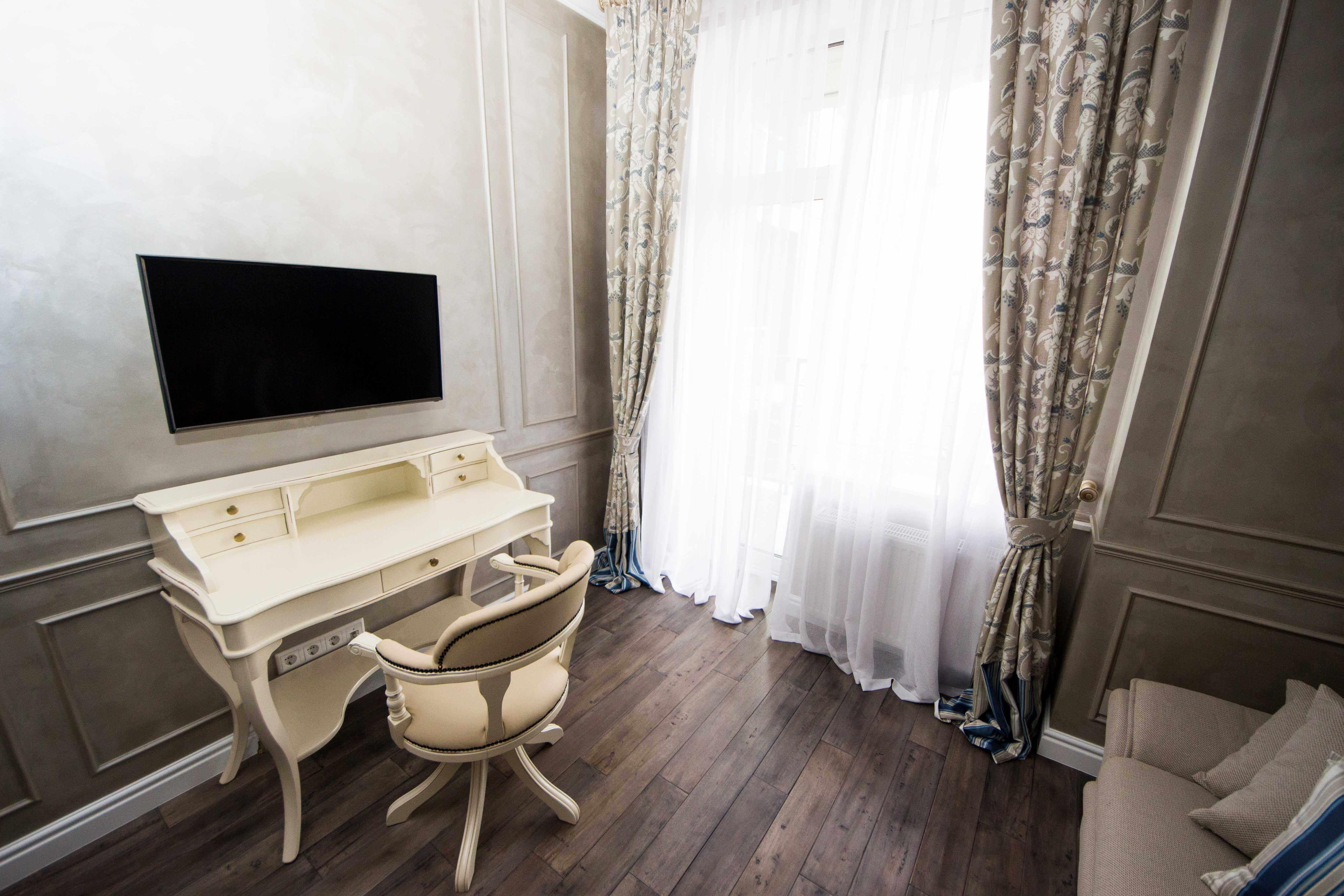 дизайн комнаты для гостей в классическом стиле
