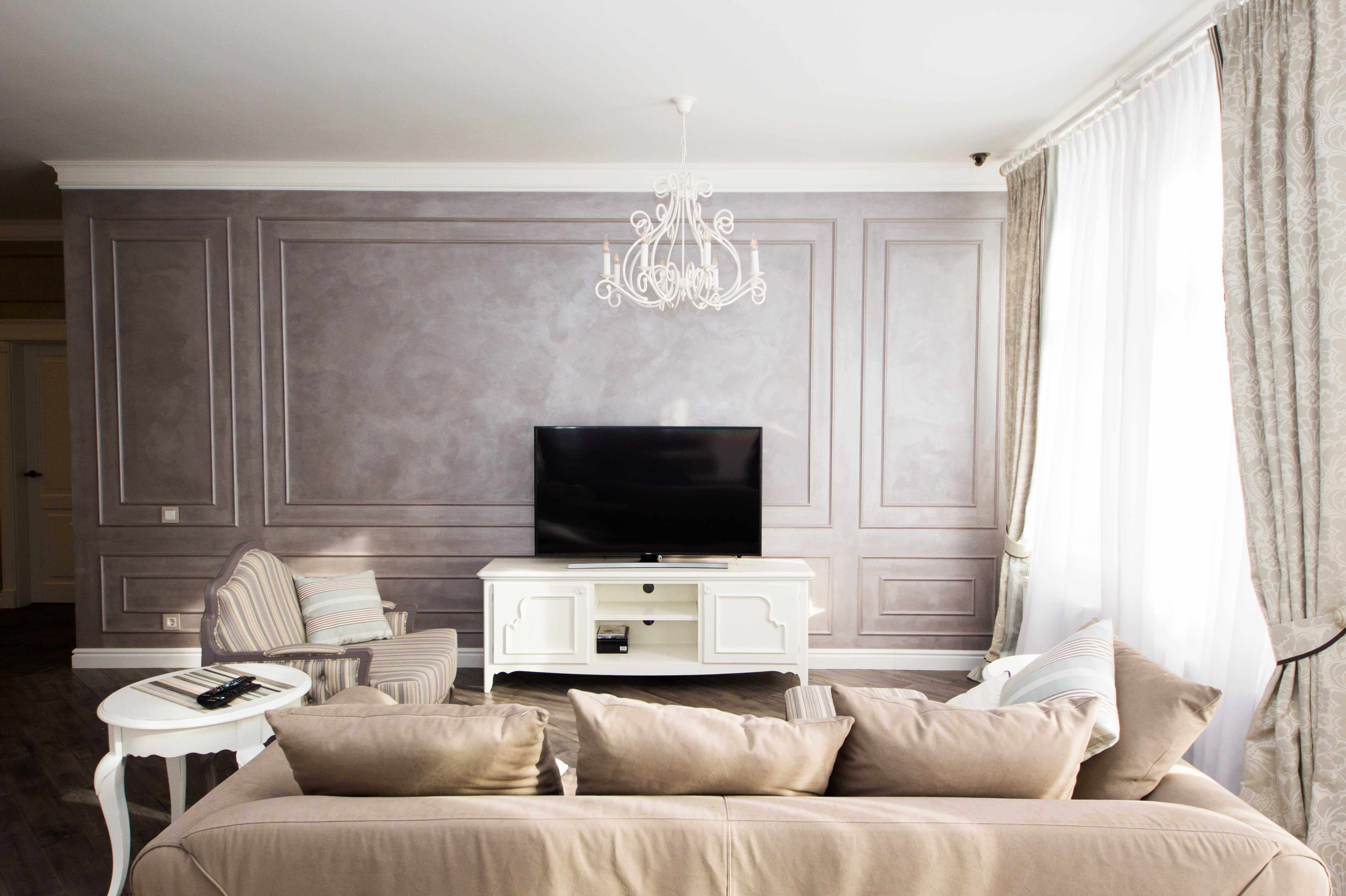 гостинная в классическом стиле