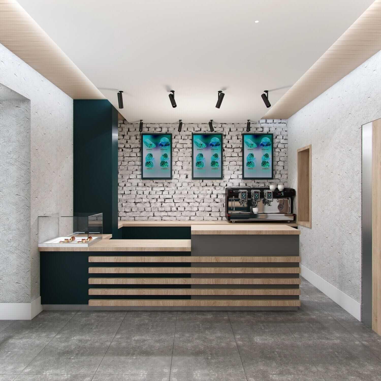 дизайн интерьера небольшого ресторана