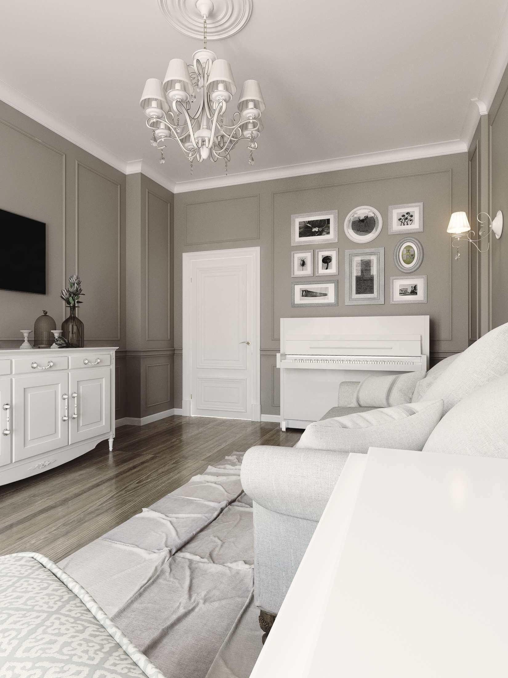 гостевая комната в современном стиле