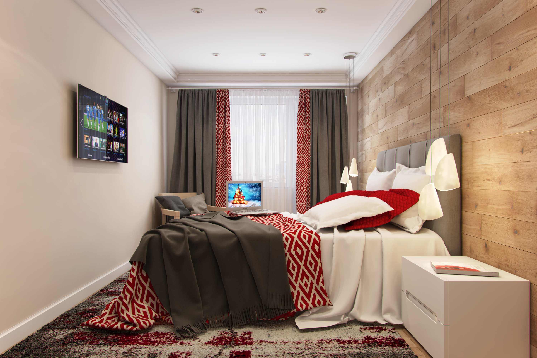 дизайн  спальни для молодоженов