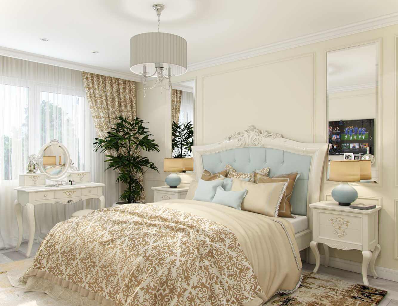 дизайн спальни в квартире жк lemonade