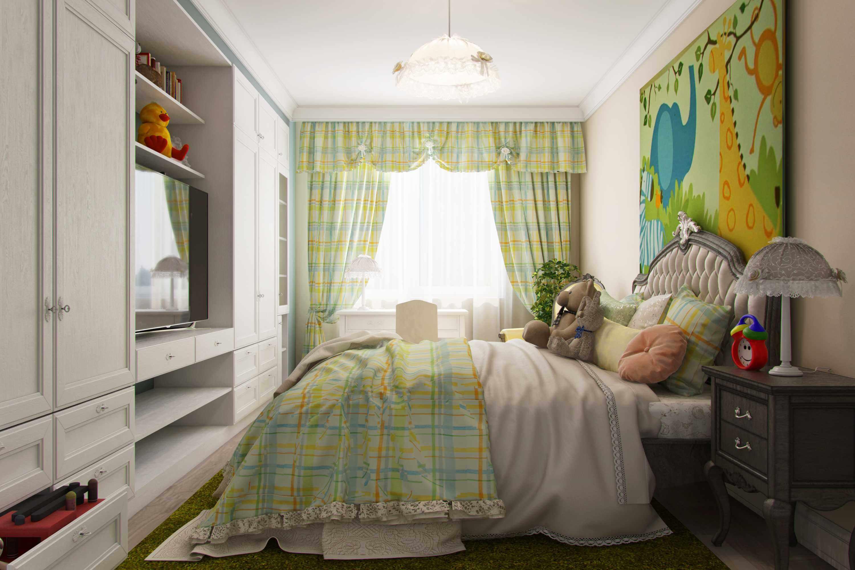 детская спальня в современном стиле