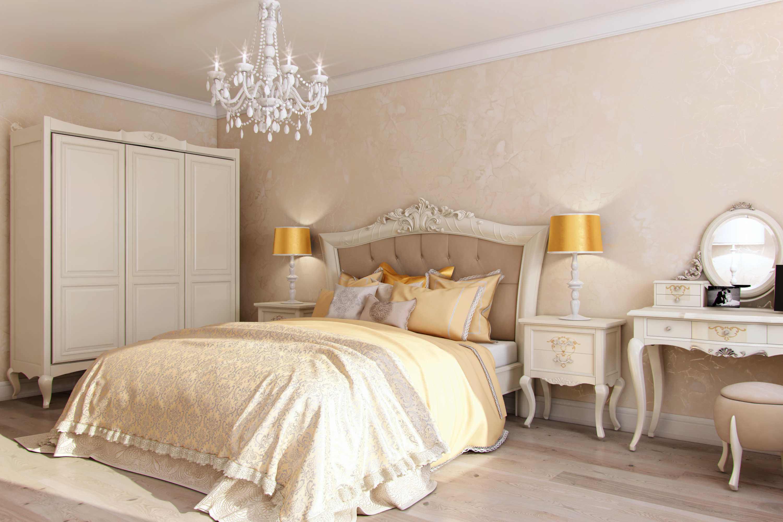 дизайн огромной спальни в коттедже