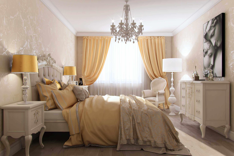 дизайн спальни в 2к квартире