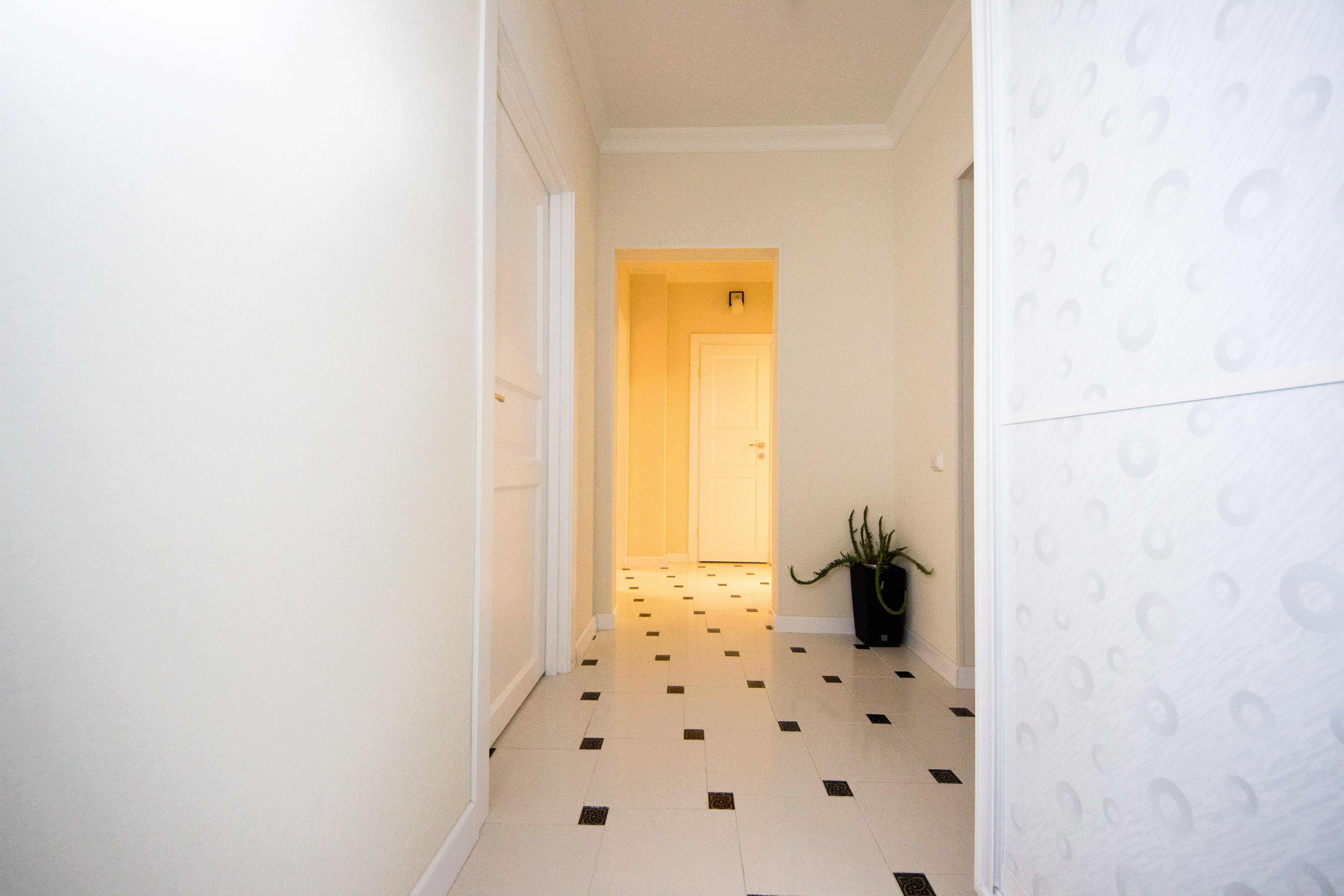 интерьер прихожей в небольшой квартире