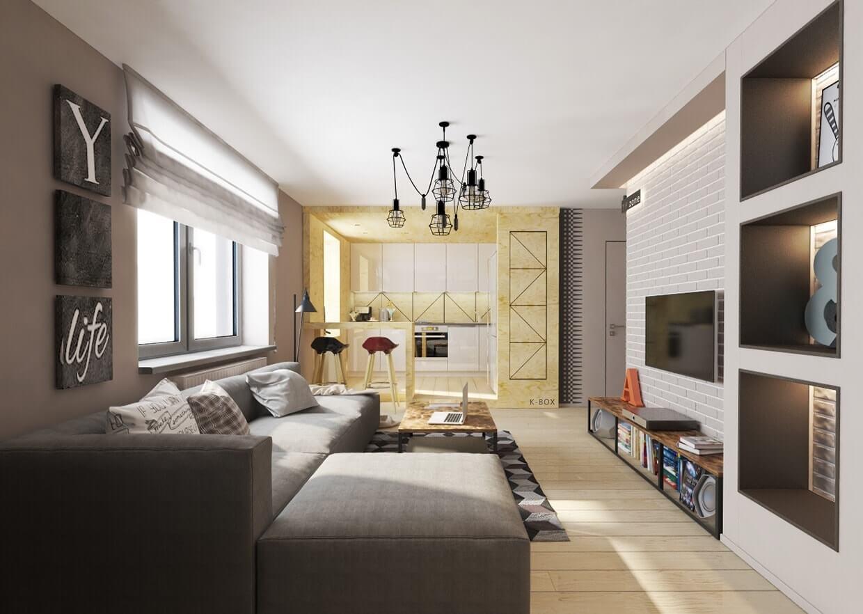 Ремонт маленькой однокомнатной квартиры