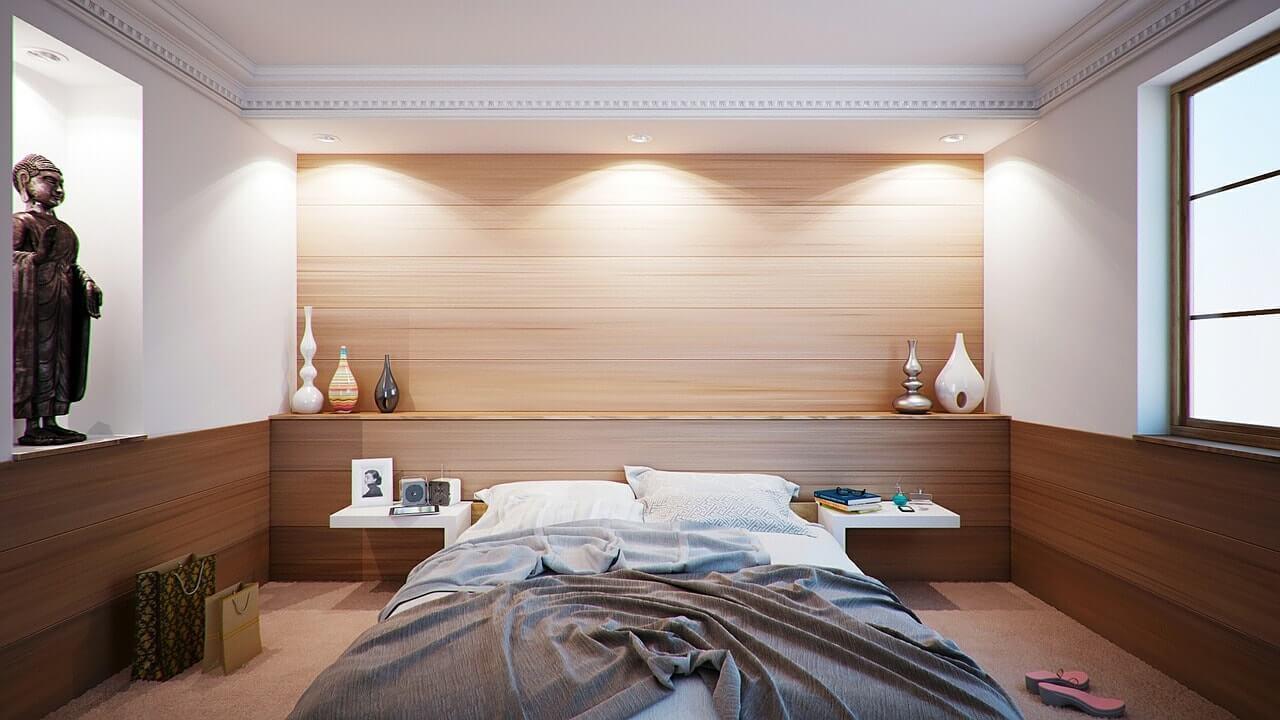 дизайн спальни в 3к квартире