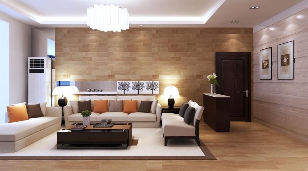 дизайн гостинной в 2к квартире