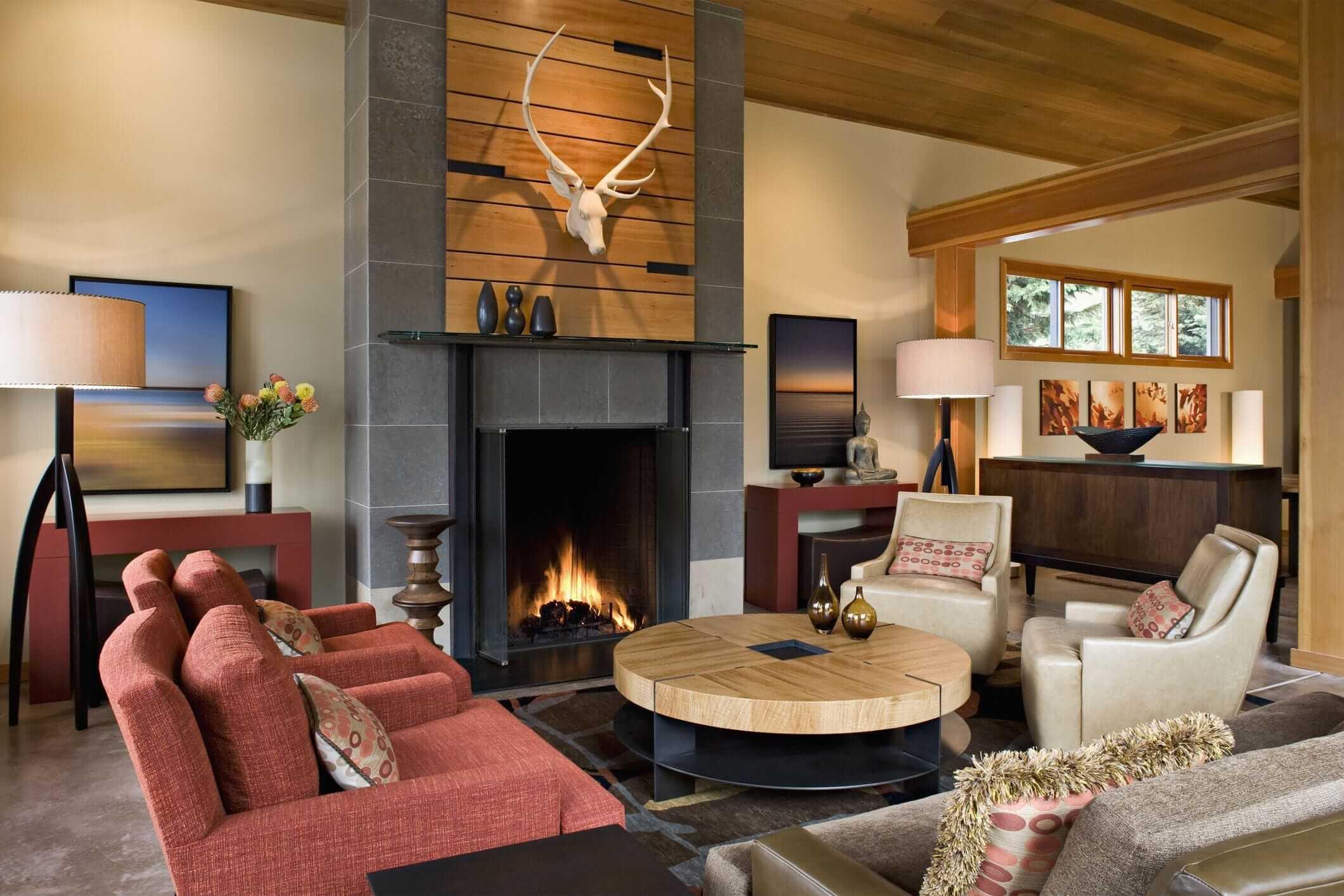 дизайн квартиры с гостинной