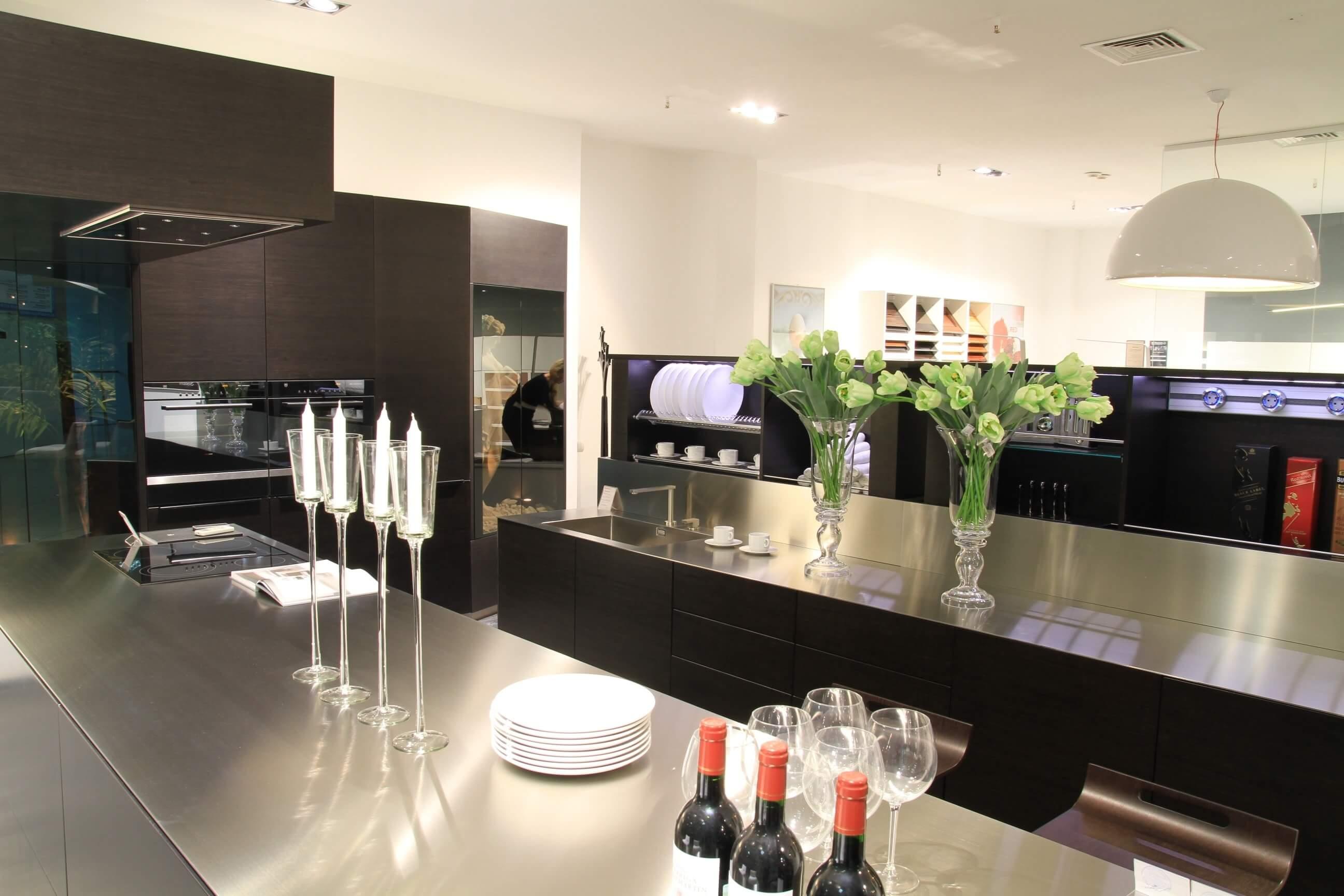 элитный дизайн интерьера в кухне
