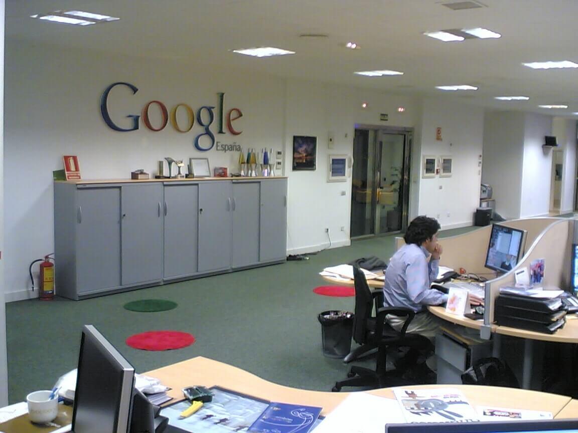 дизайг офиса компании google в испании