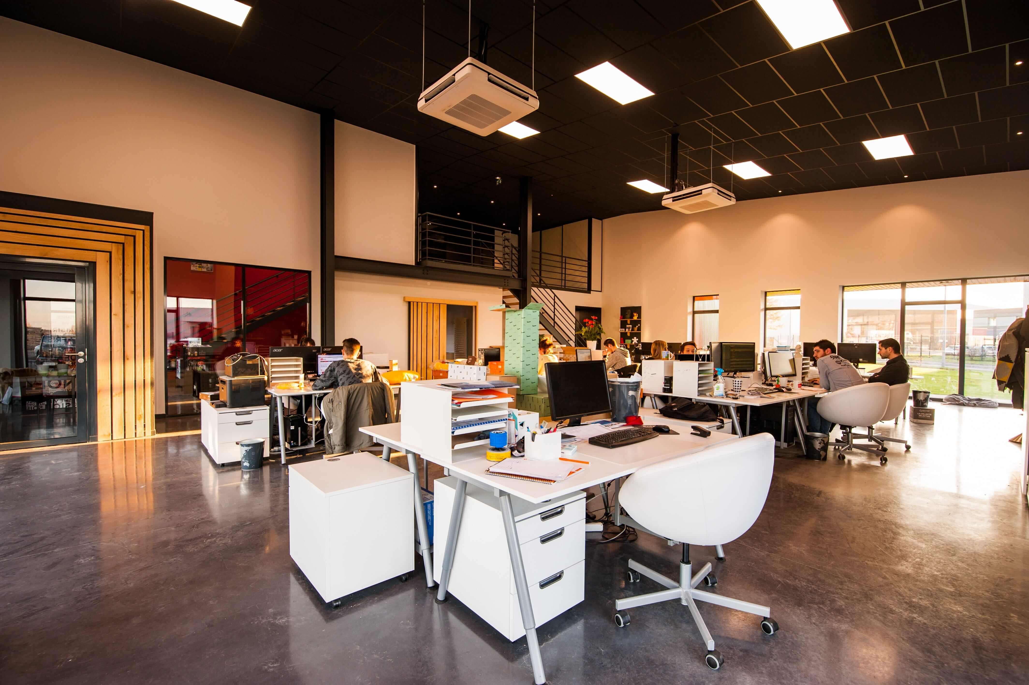 дизайн интерьера офиса ит компании