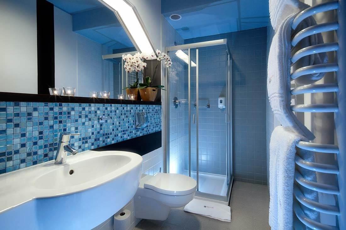 дизайн интерьера ванны в морском стиле