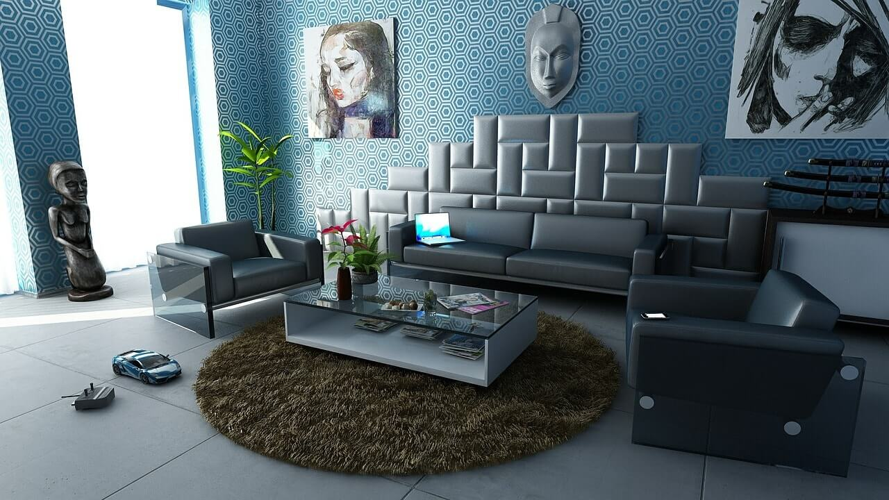 дизайн залы в 4к квартире