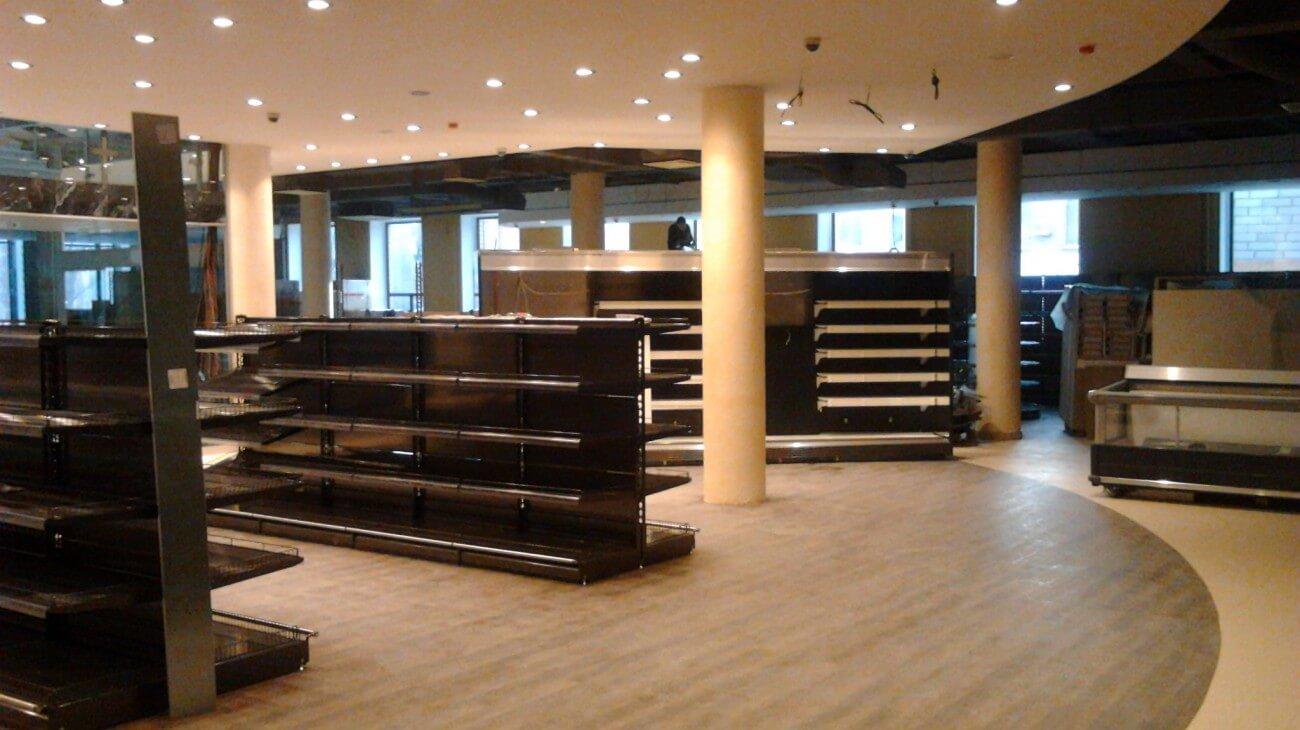 ремонт торгового зала в тц
