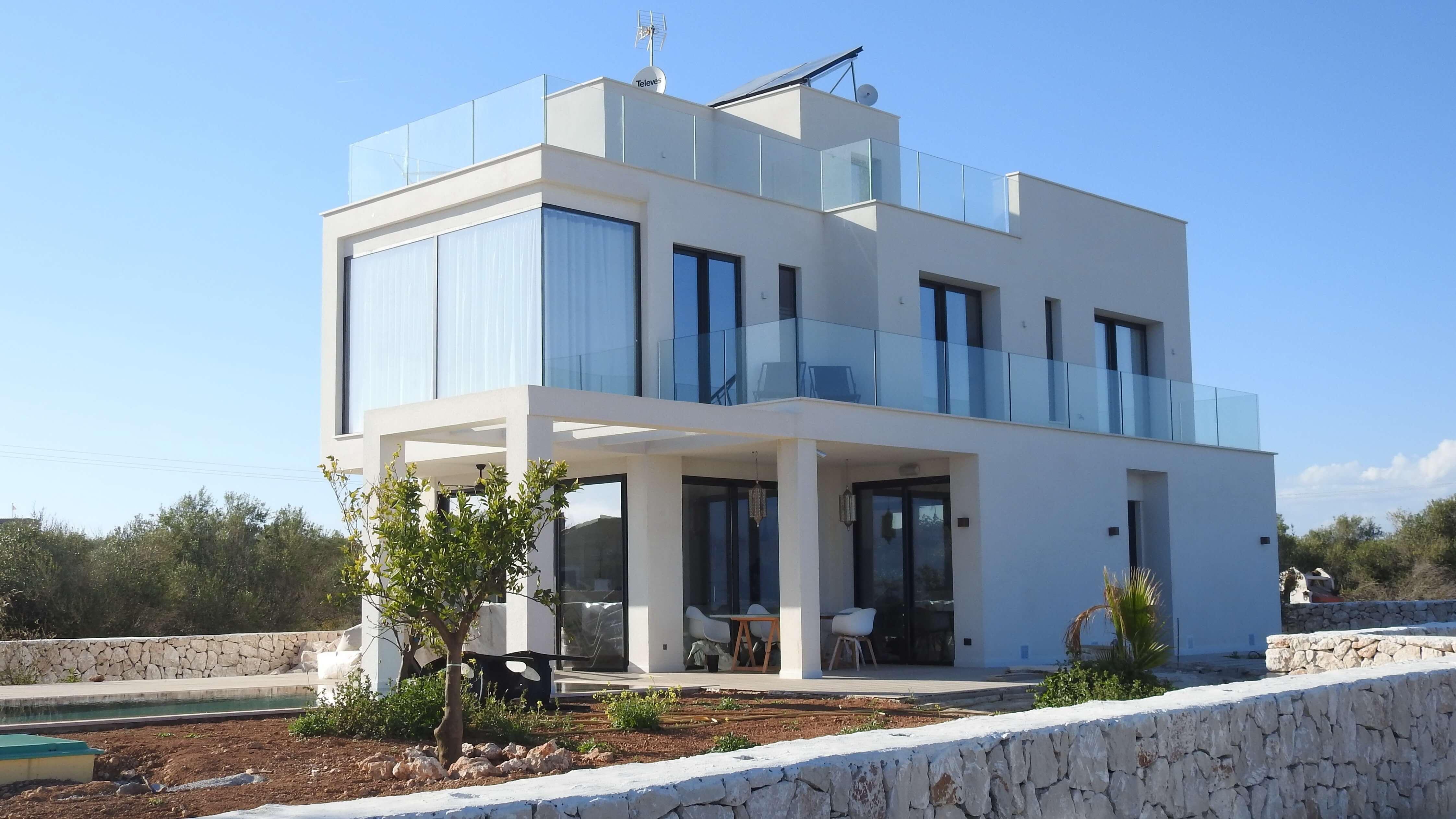 строительство домов в соврвеменном стиле