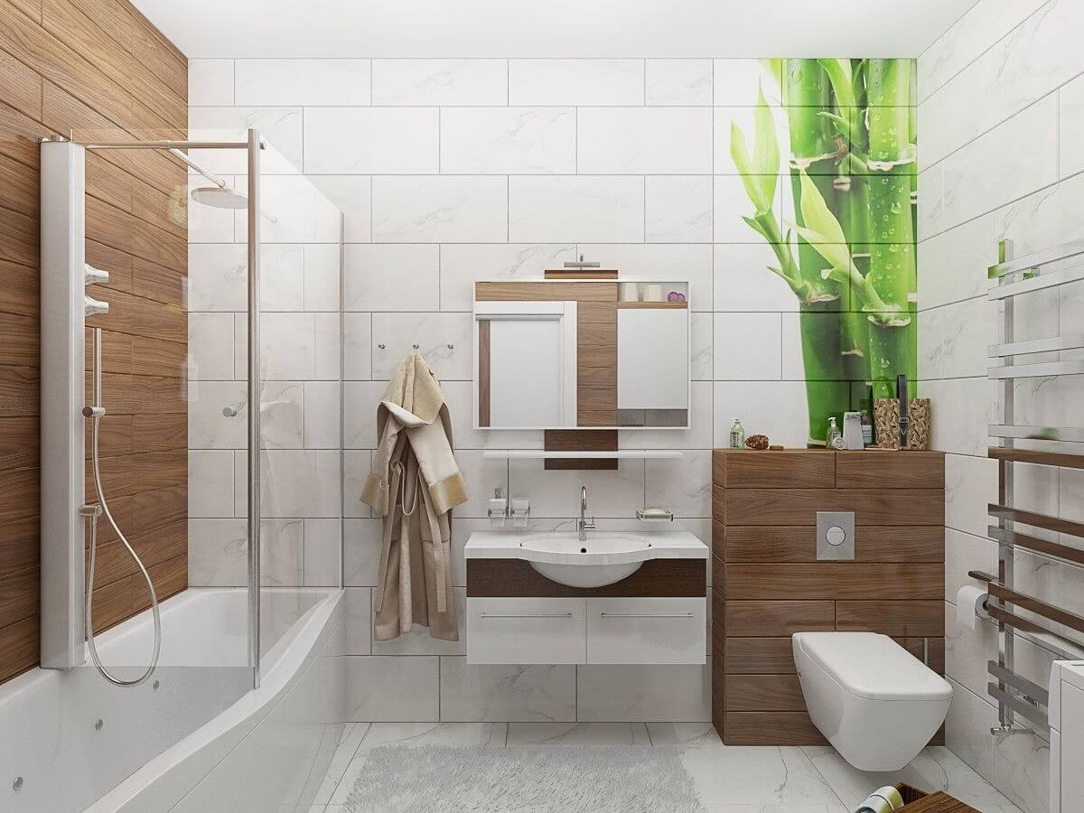 ванная в современно стиле