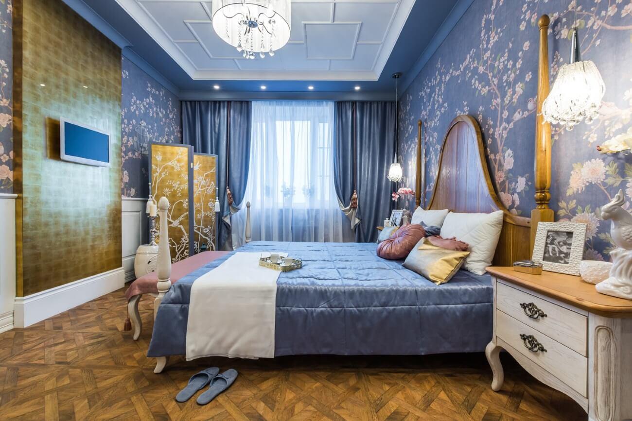 ремонт спальни в стиле поп-арт